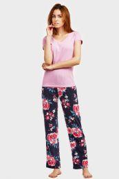 36 Units of ET TU LADIES PAJAMAS FLOWER PRINT - Women's Pajamas and Sleepwear