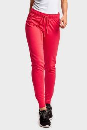 36 Units of SOFRA LADIES JOGGER PANTS IN HOT PINK - Womens Pants