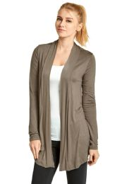 124 Units of ET TU LADIES RAYON CARDIGAN IN TAUPE - Womens Sweaters & Cardigan