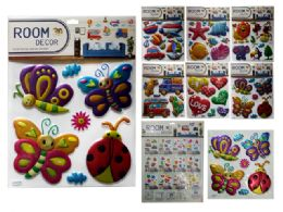 144 Units of 3D Room Decor Sticker - Home Decor
