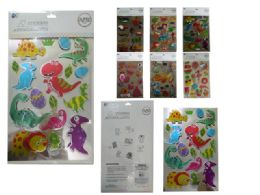 288 Units of Fun Assorted Stickers - Stickers