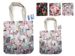 144 Units of Canvas Tote Bag - Tote Bags & Slings
