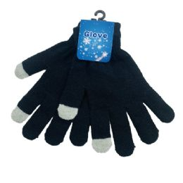 36 Units of Touch Screen Gloves [Black Only] - Winter Gloves