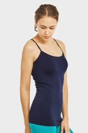 72 Units of Ladies Camisole In Navy - Womens Camisoles & Tank Tops