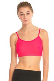 72 Units of SOFRA LADIES CROP TOP CAMISOLE IN HOT PINK - Womens Camisoles & Tank Tops