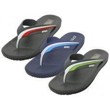 "30 Units of Men's ""Real"" Soft Comfortable Sport Thong Sandal - Men's Flip Flops and Sandals"