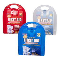 33 Units of First Aid Kit 35 Pcs In Plastic Case - First Aid and Hygiene Gear
