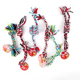 66 Units of Dog Toy Rope Chews 6 Assorted - Pet Toys