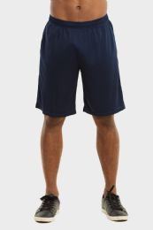 24 Units of Knocker Mens Athletic Shorts In Navy Size X Large - Mens Shorts