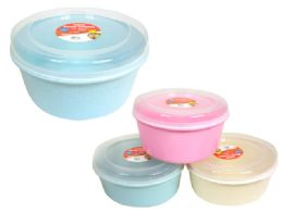 60 Units of Round Food Container - Food Storage Containers