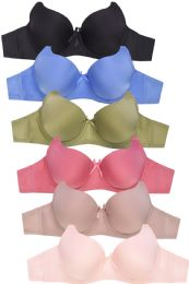288 Units of MAMIA LADIES FULL CUP PLAIN BRA - Womens Bras And Bra Sets