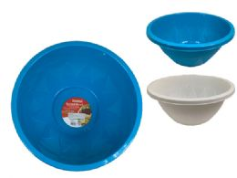 24 Units of Round Salad Bowl Basin - Food Storage Containers