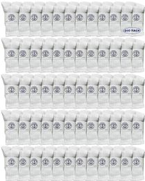 240 Units of Yacht & Smith Wholesale Kids Crew Socks,With Free Shipping Size 6-8 (White) - Boys Ankle Sock