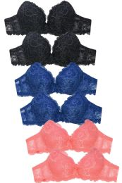 288 Units of LADIES FULL CUP LACE BRA - Womens Bras And Bra Sets