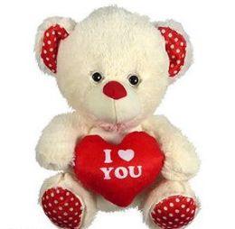 30 Units of Plush Bear with I Heart You Heart - Plush Toys
