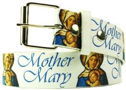 36 Units of Mother Mary Printed Belt - Belts