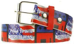 36 Units of Republican Printed Belt - Belts