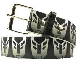 36 Units of Black Printed Belt - Belts