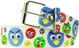 36 Units of Angry Birds Printed Belt - Belts