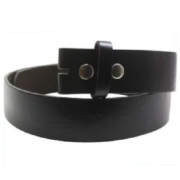 36 Units of Xxlarge Black Plain Belt - Belts