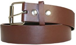 36 Units of Mixed Size Brown Belt - Belts
