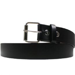 36 Units of Xxxlarge Black Plain Belt - Belts