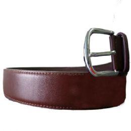36 Units of Mens Smooth Brown Belt - Mens Belts