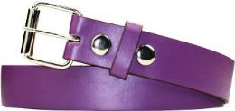 36 Units of Kids Skinny Purple Belt - Kid Belts
