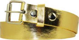 36 Units of Kids Fashion Gold Belt - Kid Belts