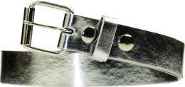 36 Units of Kids Fashion Silver Belt - Kid Belts