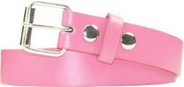 36 Units of Kids Fashion Light Pink Belt - Kid Belts