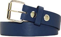36 Units of Kids Fashion Navy Belt - Kid Belts