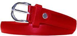 36 Units of Kids Fashion Red Belt - Kid Belts
