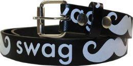 36 Units of Kids Swag Printed Belt - Kid Belts