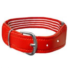 36 Units of Kids Stretchable Belt Red - Kid Belts