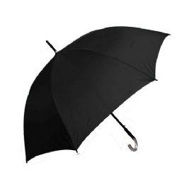 48 Units of 55 cm Black Umbrella - Umbrellas & Rain Gear