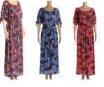 36 Units of Womans Paisley Design Long Summer Dress - Womens Sundresses & Fashion