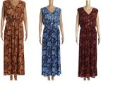 36 Units of Womans Fashion Summer Sun Dress Assorted Color - Womens Sundresses & Fashion