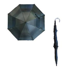 36 Units of 75CM SOLID BLACK UMBRELLA - Umbrellas & Rain Gear