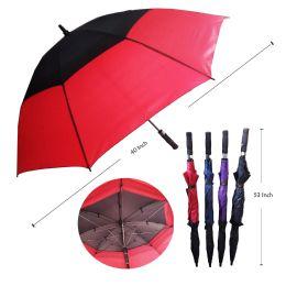 36 Units of 75CM DOUBLE WIND PROOF UMBRELLA - Umbrellas & Rain Gear