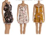 48 Units of Woman's Summer Fashion Floral Romper Assorted Color - Womens Rompers & Outfit Sets