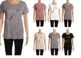 48 Units of Womens Fashion High Heeled Shoe Short Sleeve Summer Top - Women's T-Shirts