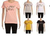24 Units of Womens Fashion Short Sleeve Meet Best Cherry Tee - Womens Fashion Tops