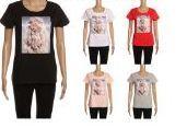 24 Units of Womens Fashion Short Sleeve Tee - Womens Fashion Tops
