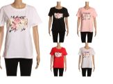 24 Units of Womens Fashion Short Sleeve Floral Tee - Womens Fashion Tops