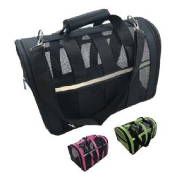 6 Units of Deluxe Pet Carrier-Large - Pet Accessories