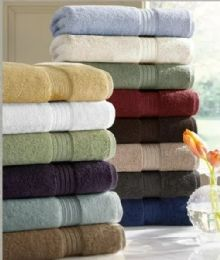 6 Units of Designer Luxury Heavy Weight 100 Percent Egyptian Bath Towel In Gold - Bath Towels