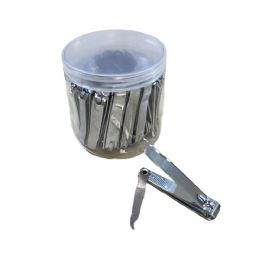 30 Units of Large Nail Clippers In Container - Cosmetics