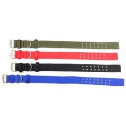 """24 Units of 30"""" Nylon Dog Collar [2"""" Wide] Double Buckle - Pet Collars and Leashes"""