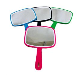 "24 Units of 7.25""x6"" Handheld Mirror - Bathroom Accessories"